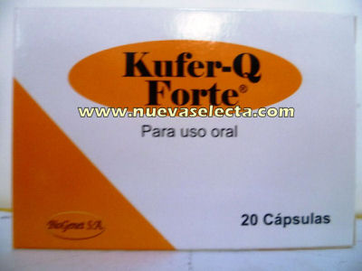 Kufer-Q-Forta-20-Capsulas-Distribuidora Farmaceutica Disfarmur